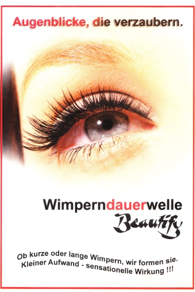 Wimperndauernwelle Beauty Pearl Regensburg